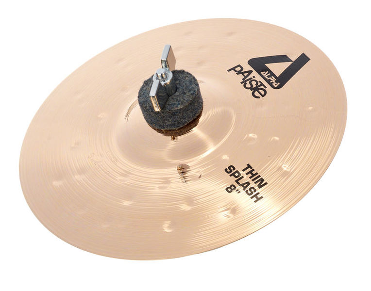 "Paiste 08"" Alpha Thin Splash Brill."