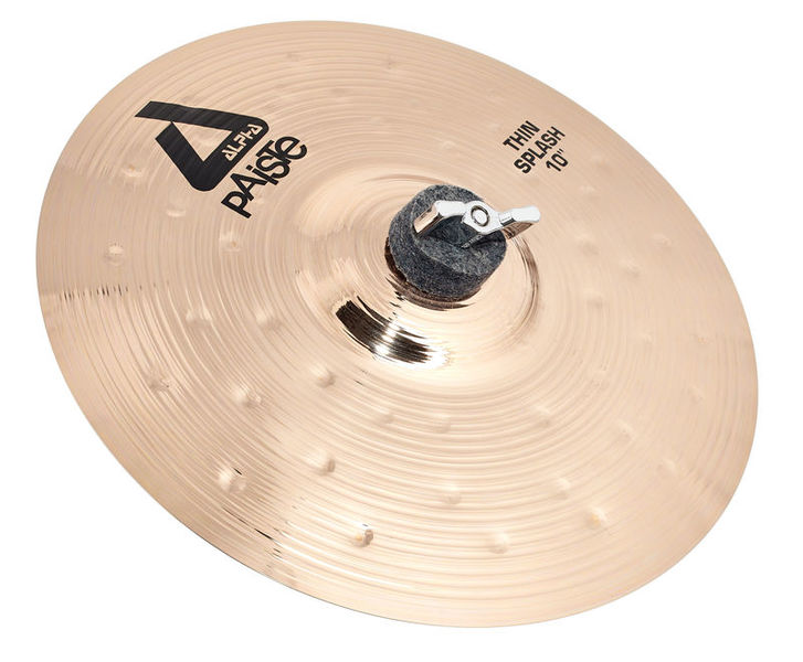 "Paiste 10"" Alpha Thin Splash Brill."