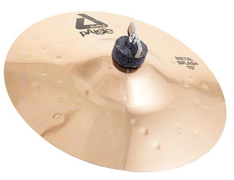 "Paiste 10"" Alpha Metal Splash Brill."
