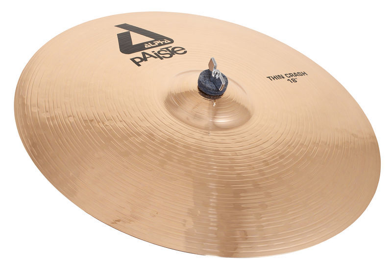 "Paiste 18"" Alpha Thin Crash Brilliant"