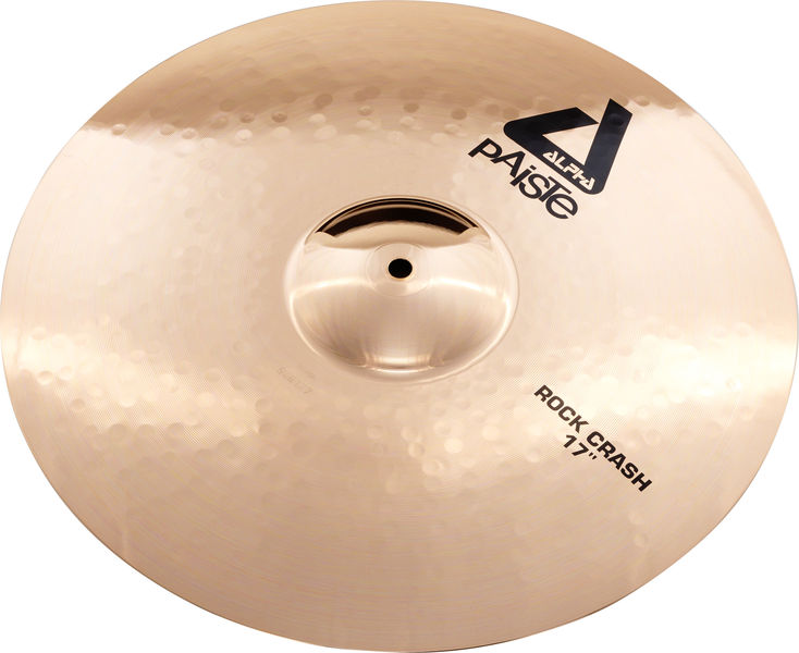 "Paiste 17"" Alpha Rock Crash Brilliant"
