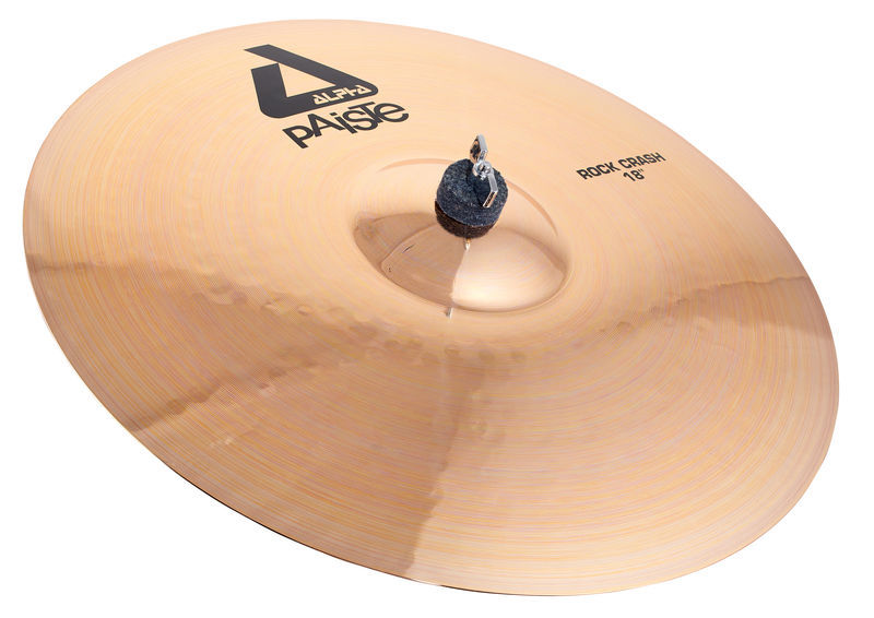 "Paiste 18"" Alpha Rock Crash Brilliant"