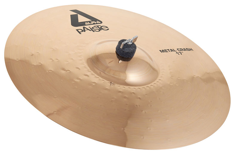 "Paiste 17"" Alpha Metal Crash Brill."