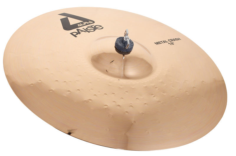 "Paiste 18"" Alpha Metal Crash Brill."