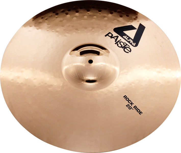 "Paiste 20"" Alpha Rock Ride Brilliant"