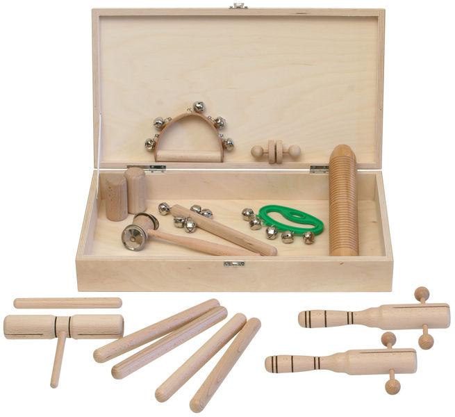 Goldon Percussion Set 3 in Wood Box