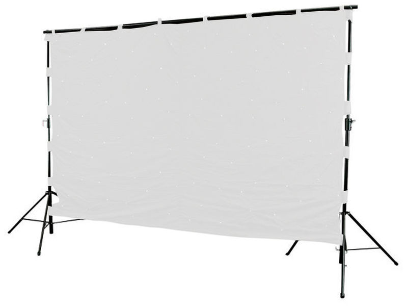 Varytec Backtruss Curtain Stands Set