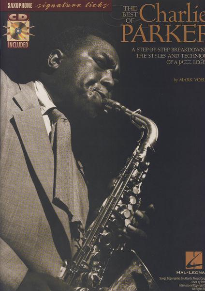 Hal Leonard Best Of Charlie Parker f. Sax.