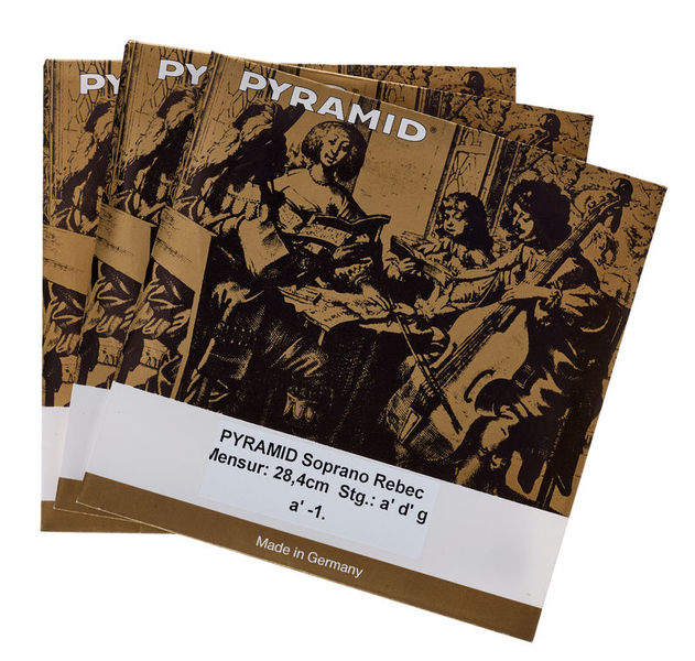 Pyramid Soprano Rebec Strings
