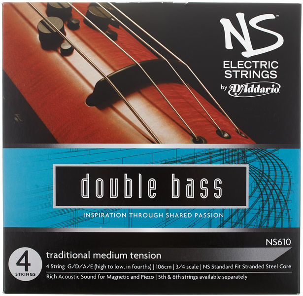 NS610 Electric Traditional Med Daddario