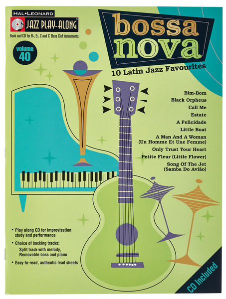 Hal Leonard Jazz Play Along Bossa Nova