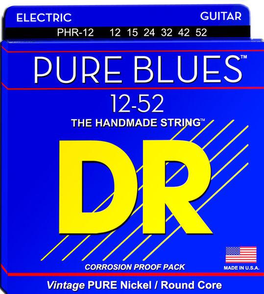 DR Strings Pure Blues PHR-12PL