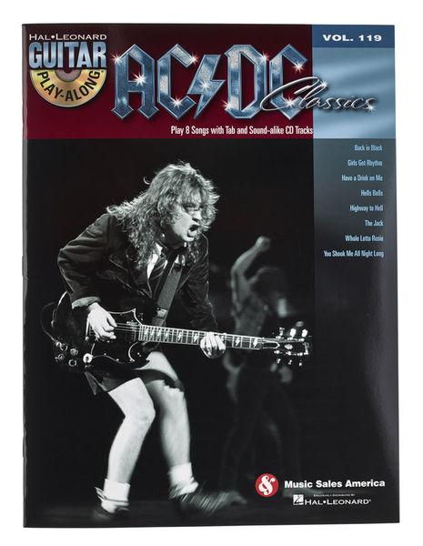 Hal Leonard Play-Along AC/DC Classics