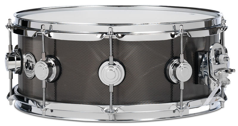 "DW 14""x5,5"" Steel/Knurled Black"