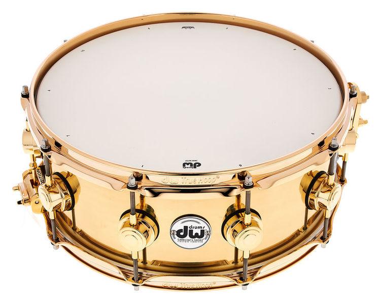 "DW 14""x5,5"" Brass Snare"