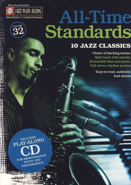 Hal Leonard All Time Standards Play Along