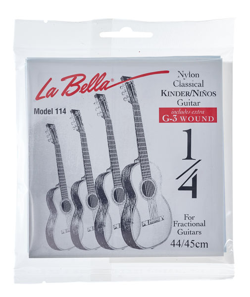 La Bella FG114 1/4 Guitar Nylon