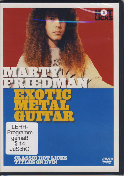 Hot Licks Marty Friedman Exotic Metal