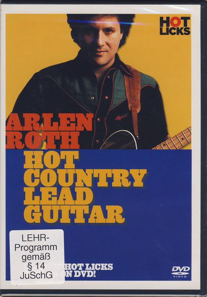 Hot Licks Arlen Roth Hot Country