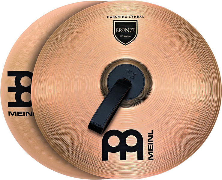 """Meinl 16"""" Bronce Marching Cymbal"""
