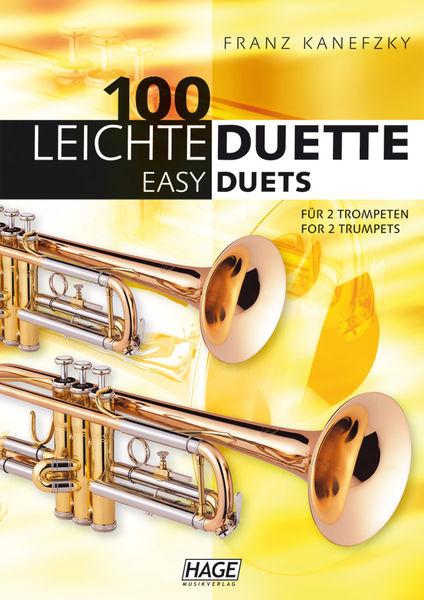 100 Leichte Duette Trompete Hage Musikverlag