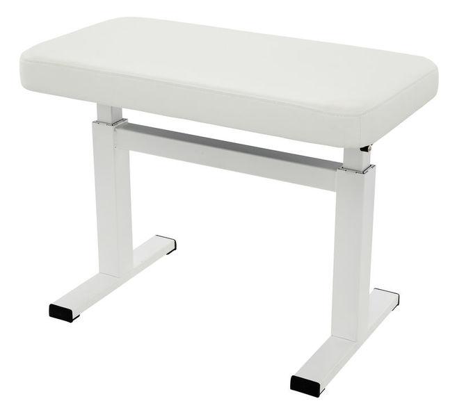 Piano Bench, White Situno