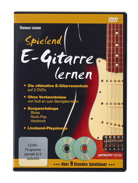 Jenschmedia Spielend E-Gitarre lernen DVD