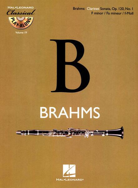 Hal Leonard Brahms Clarinet Sonata