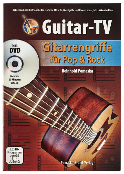 Pomaska-Brand Verlag Guitar-TV Gitarrengriffe w.DVD