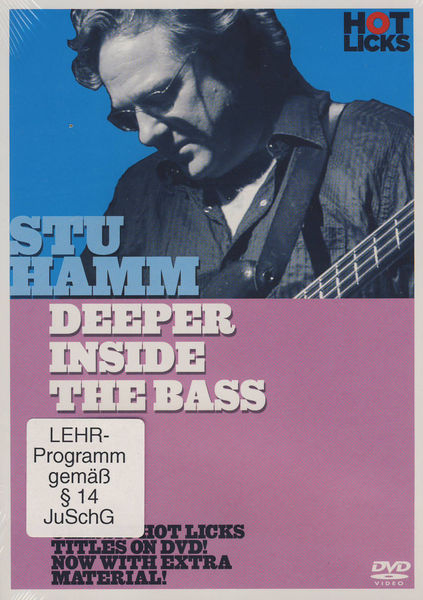 Hot Licks Stu Hamm Deeper Inside Bass