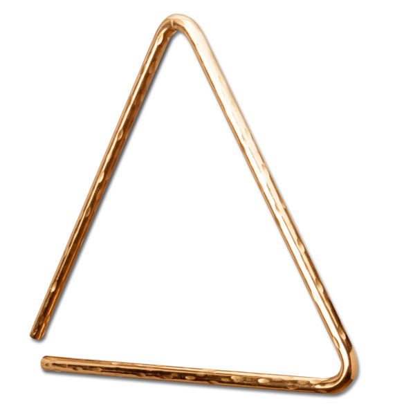 "Sabian 6"" Triangle HH B8 Bronze"