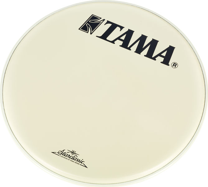 "Tama 18"" Resonant Bass Drum White"