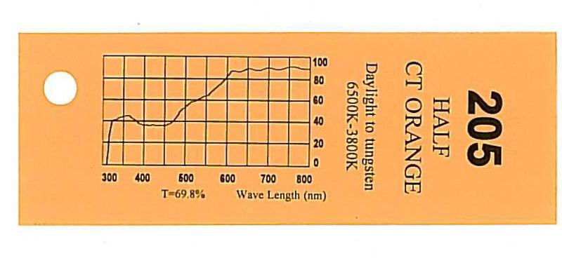 Q-Max Filter Roll 205 H.C.T. Orange