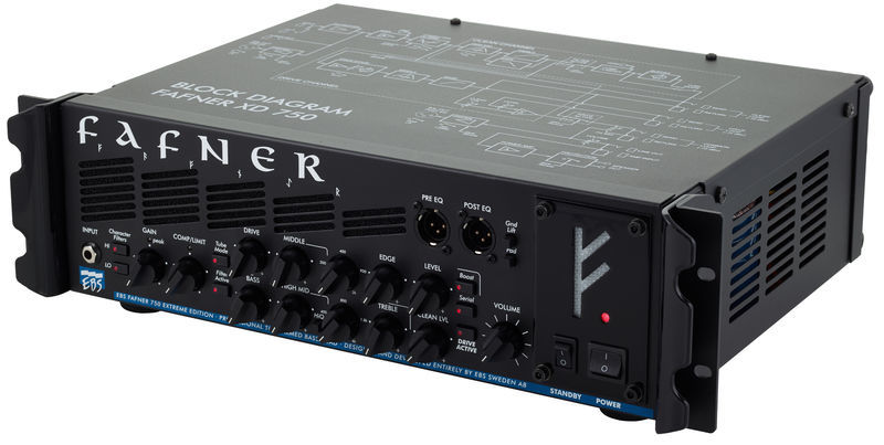 EBS Fafner II Bass Amp Head
