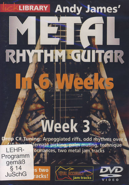 Music Sales Metal Rhythm Guitar Week 3