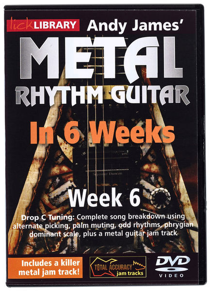 Music Sales Metal Rhythm Guitar Week 6
