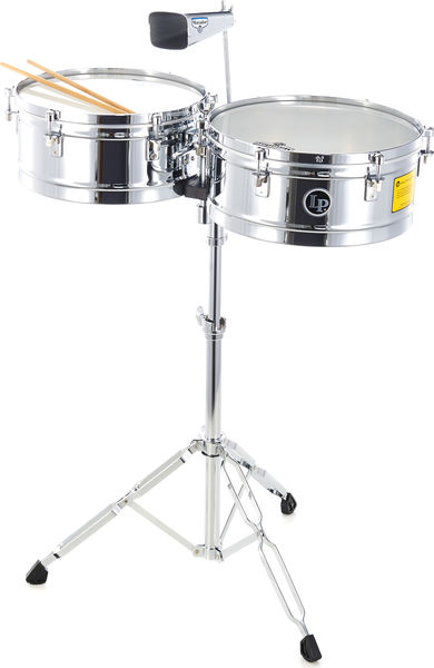 LP M257 Timbales Matador Chrome
