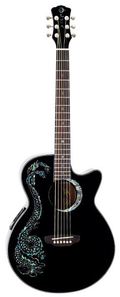 Luna Guitars Fauna Dragon
