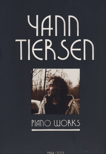 Ricordi Yann Tiersen Piano Works