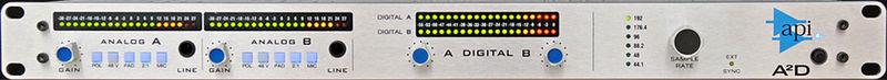 API Audio A2D Dual 312 Preamp AD