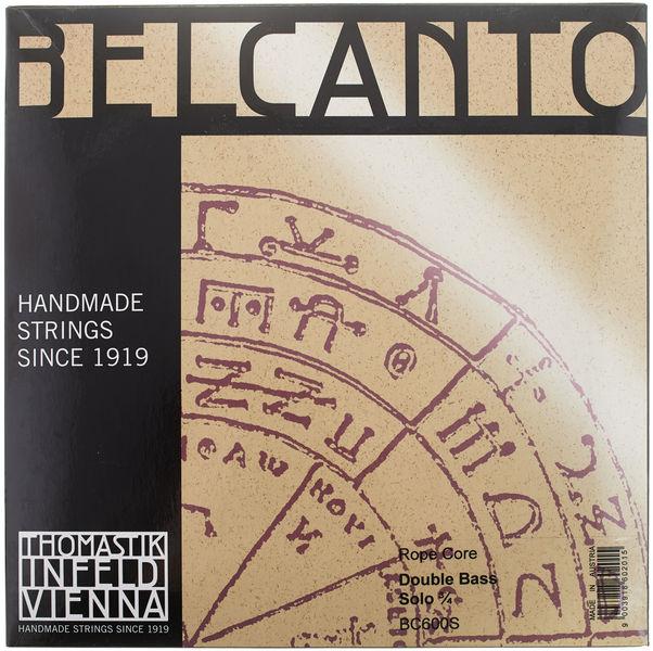 Belcanto Solo Double Bass 3/4 Thomastik