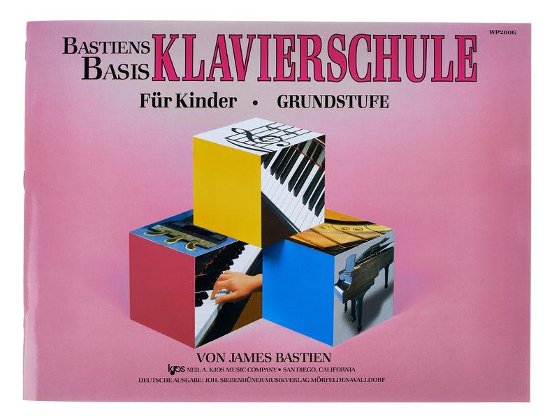 Neil A.Kjos Music Company Bastien Klavier Grundstufe