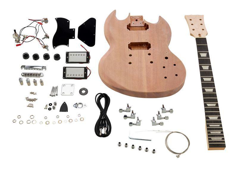 Electric Guitar Kit DC Style Harley Benton