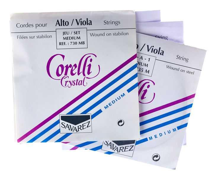 Corelli Crystal 730MB Viola Strings