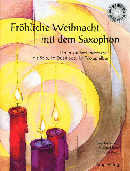 Fröhliche Weihnacht Alto Sax Horst Rapp Verlag