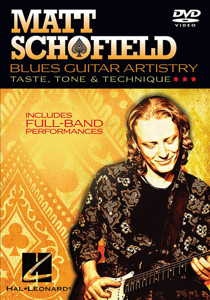 Hal Leonard Matt Schofield Blues Guitar
