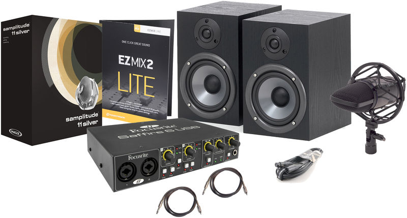 Focusrite Saffire 6USB Recording Bundle