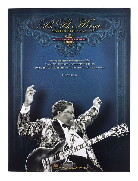 Hal Leonard BB King Master Bluesman