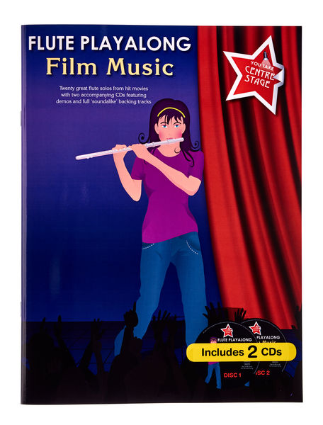Wise Publications Flute Playalong Film Music