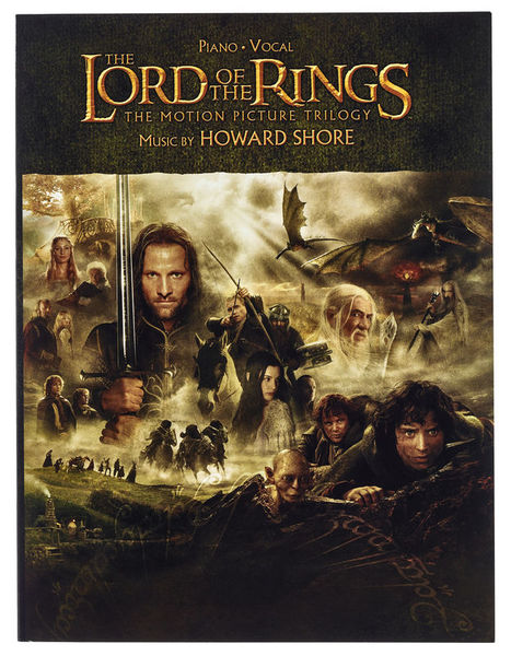 Lord Of The Rings Piano Vocal Alfred Music Publishing